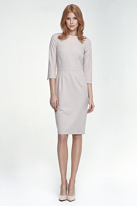 Nife - Sukienka s80 - beż