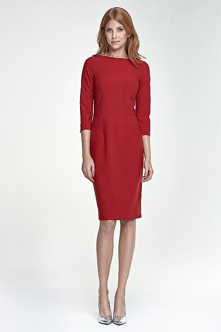 Nife - Sukienka s80 - czerwony