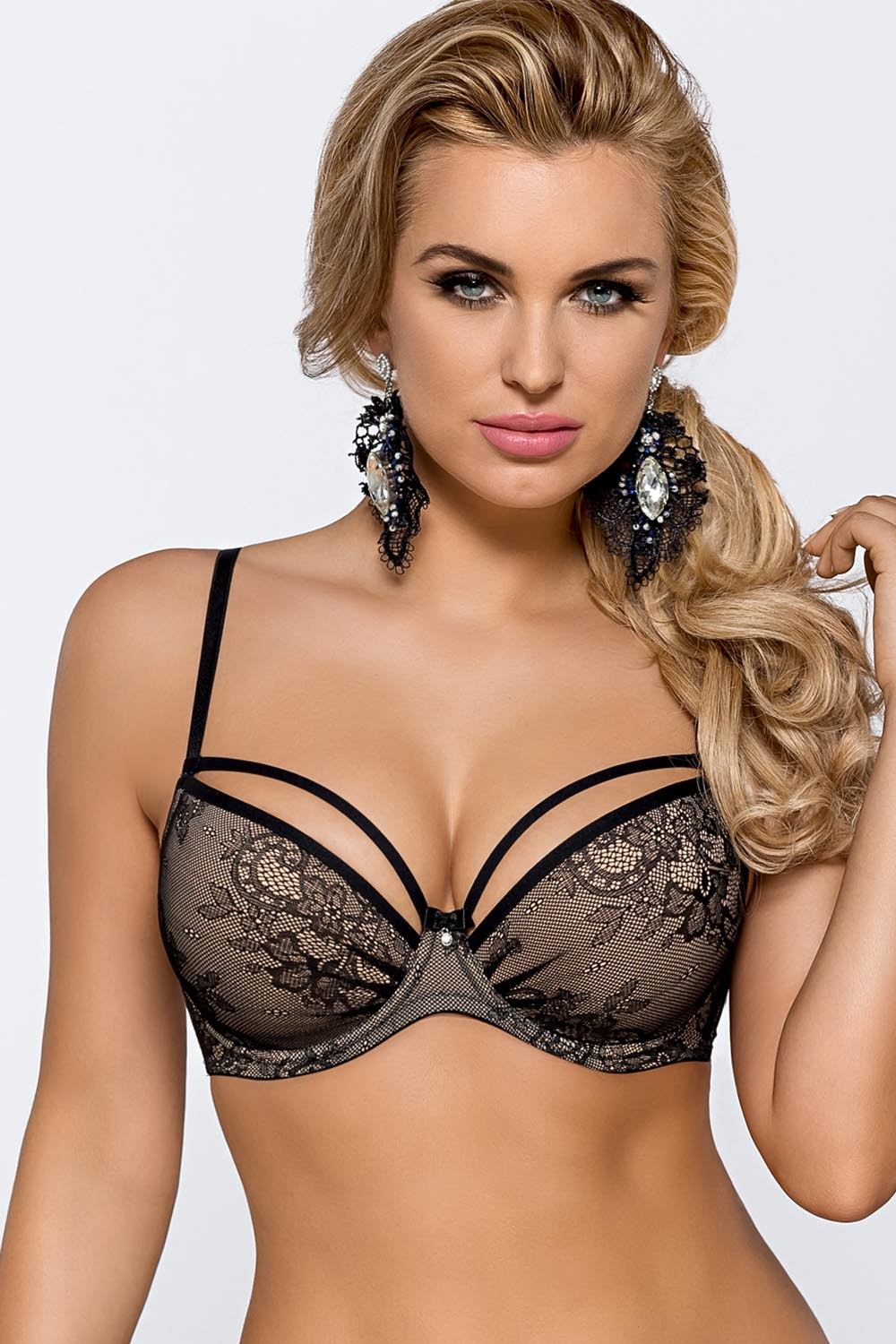 Biustonosz push-up Nipplex Greta