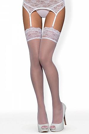 Klasyczne Obsessive Swanita stockings - foto