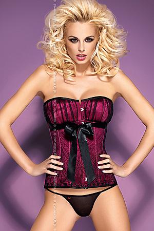 Rubines corsett - komplet - Obsessive