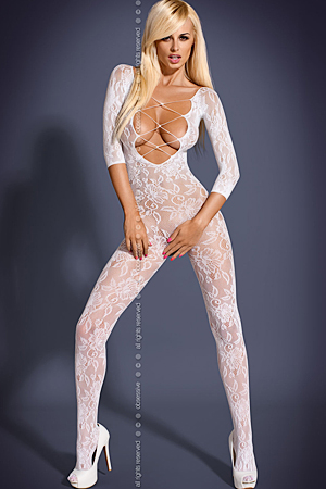 F200 White - bodystocking - Obsessive