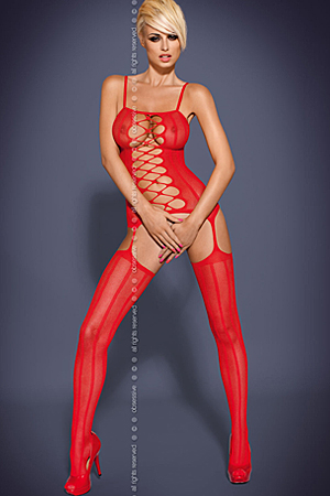 G300 Red - bodystocking - Obsessive