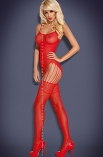 F207 Red - bodystocking - Obsessive