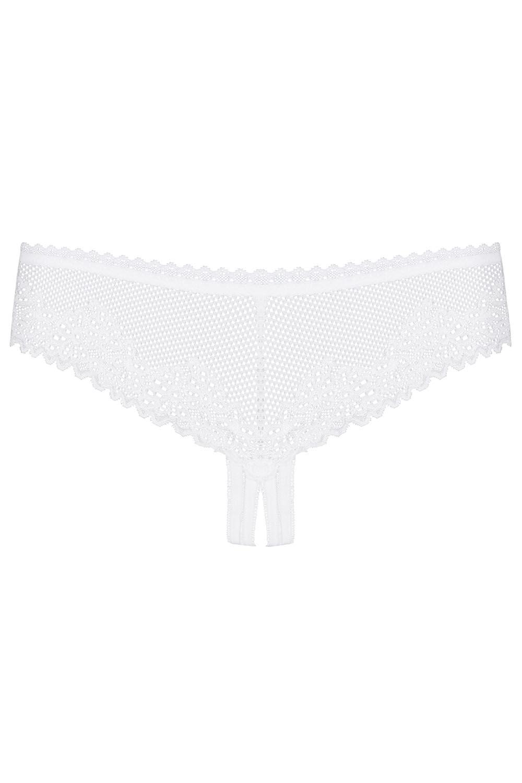 Stringi Obsessive Alabastra crotchless thong
