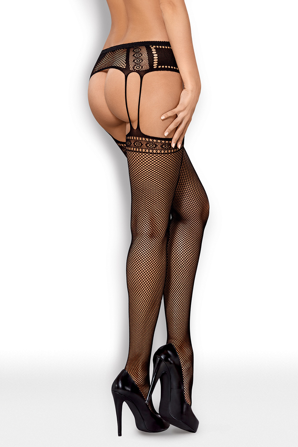kabaretka Obsessive Garter stockings S227 - zoom