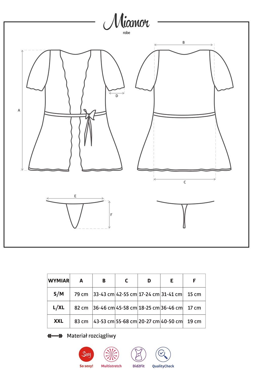 Obsessive Miamor robe