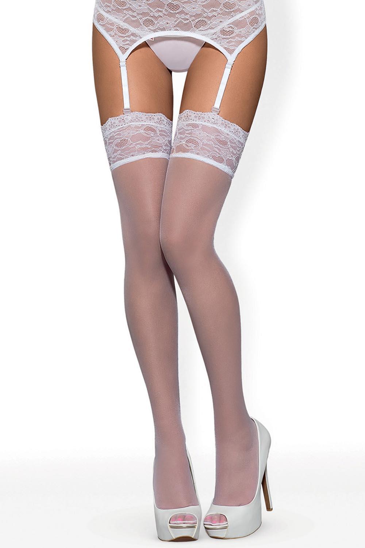 Klasyczne Obsessive Swanita stockings - zoom