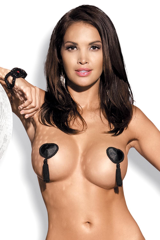 nakładki Obsessive Tassel nipple covers black