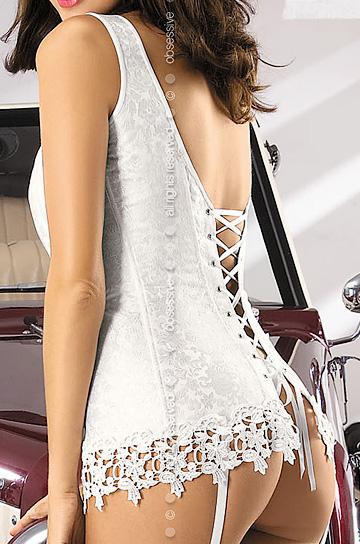 Bride corset - komplet - Obsessive