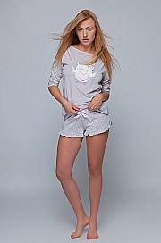 Sensis - Piżama Megan jasny beż