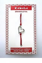 Bransoletka Kabała - Serce - Aprilio Jewelery