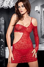 koszulka+stringi Tessoro 242 Carmine Lady