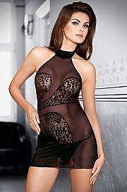 koszulka+stringi Tessoro 244 Sexy Leopard