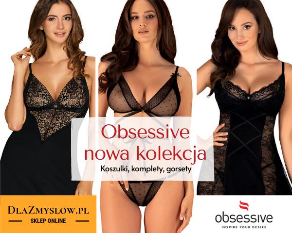 Nowa kolekcja Obsessive oficialny sklep - Dlazmyslow.pl