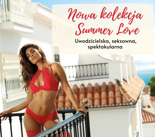 Summer Love - Najnowsza kolekcja firmy Axami Lingerie 2021