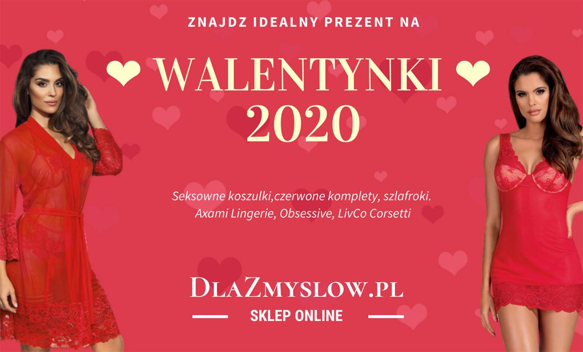14 lutego 2020 - bielizna walentynkowa w Dlazmyslow.pl